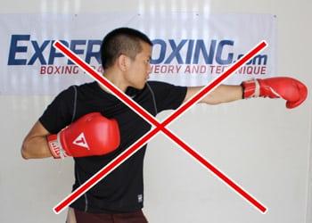 Boxing Short Swinging Upward Blow