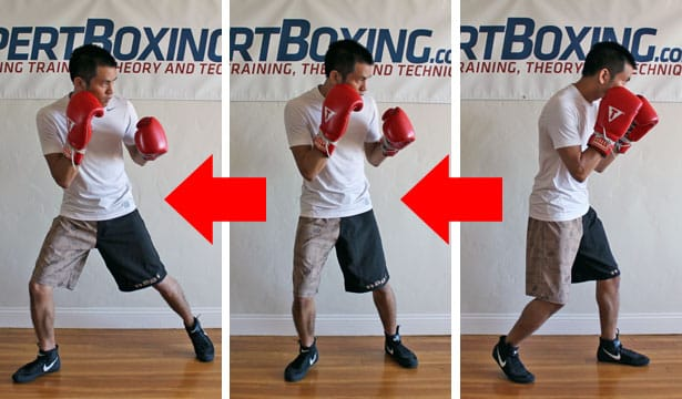 boxing footwork tips - back pivot