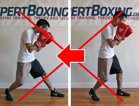 boxing footwork tips - back step