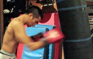heavy bag drills