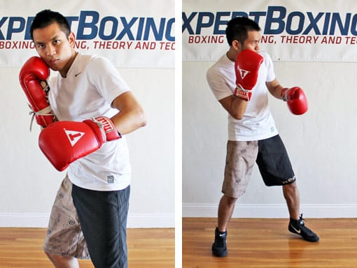 back axis in boxing