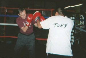 Old School Boxing Training with FRANK DUNLAP