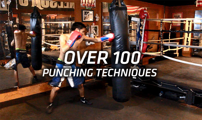 punching technique drills