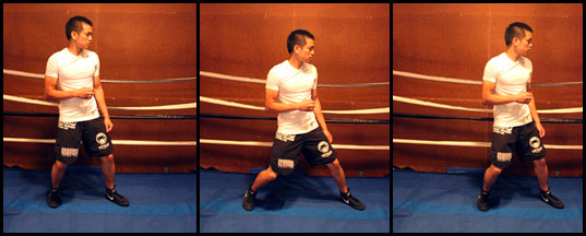 good mobility in high boxing stance