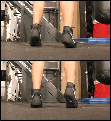shoeshine combination footwork